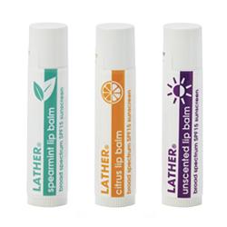lip balm – broad spectrum SPF 15
